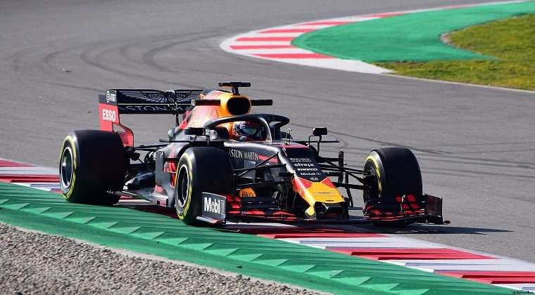 Pierre Gasly Testing the RB15