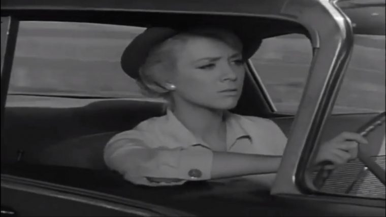 Twilight Zone Episodes That Involve Cars Hitch Hiker