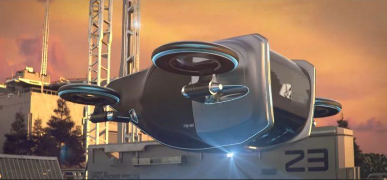 Goodyear Aero flying car