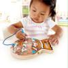 hape go fish magnetic wooden toddler maze puzzle