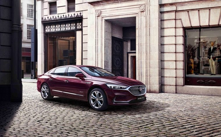 The J.D. Power award- ranked Buick LaCrosse