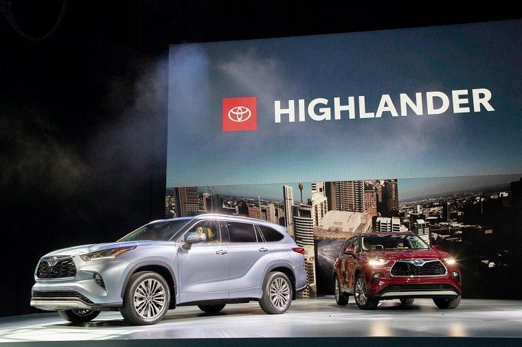 2020 Highlander at 2019 NYIAS