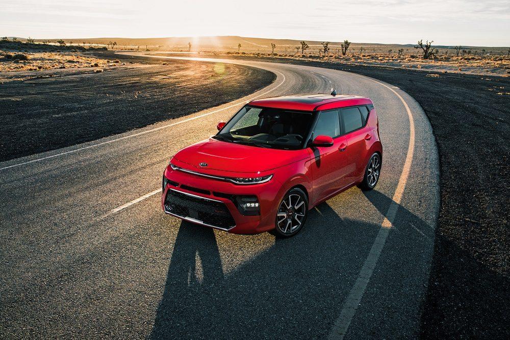 2020 Kia Soul GT-Line red exterior