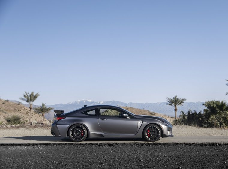 Power And Luxury The 2020 Lexus Rc F Track Edition The