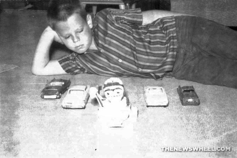 Building model cars memories childhood 1960s hobby history kit
