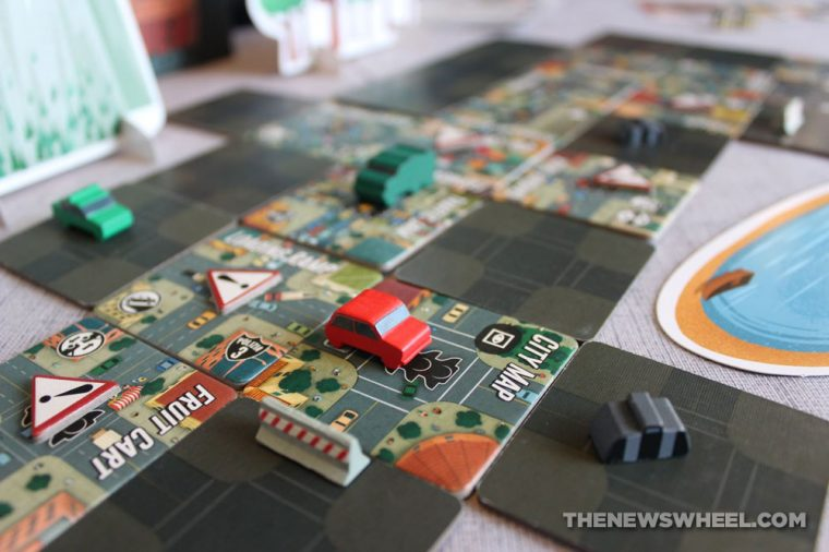 Getaway Driver board game car race strategy escape 2 players Jeff Beck summary buy