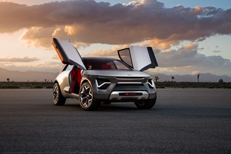Kia HabaNiro Concept New York Auto Show exterior