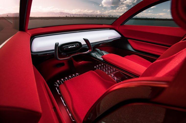 Kia HabaNiro Concept New York Auto Show interior