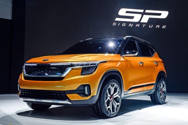 Kia Signature Concept SUV 2019 Seoul Motor Show