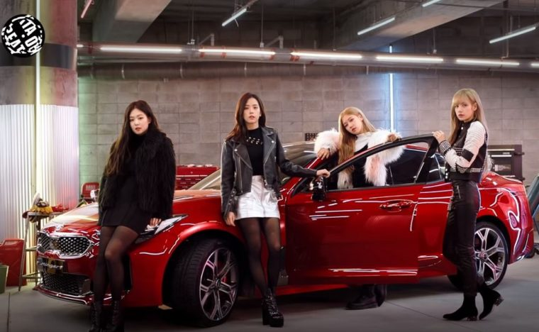 Kia on Beat BLACKPINK Global Brand Ambassadors 2019 In Your Area World Tour