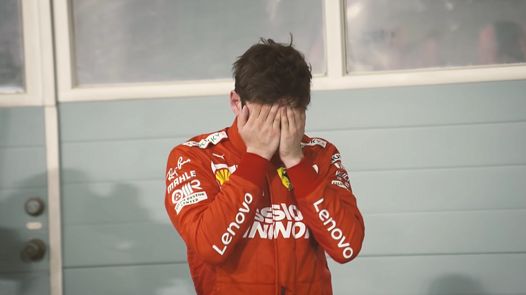 Charles Leclerc Sad after Bahrain