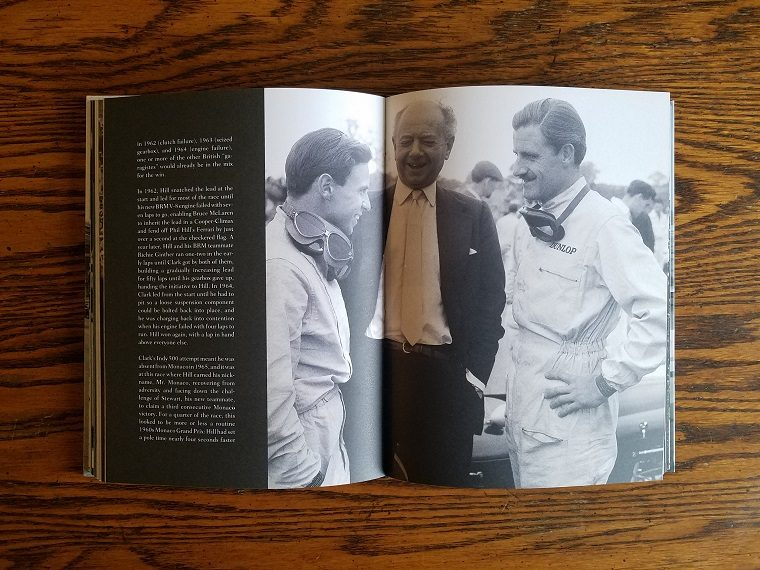Jim Clark & Graham Hill