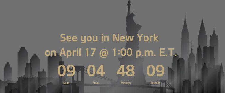 kia new york auto show countdown