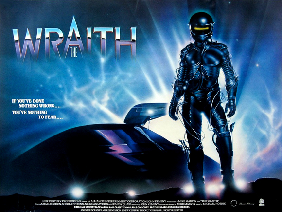 low budget B-Movies About Cars the wraith