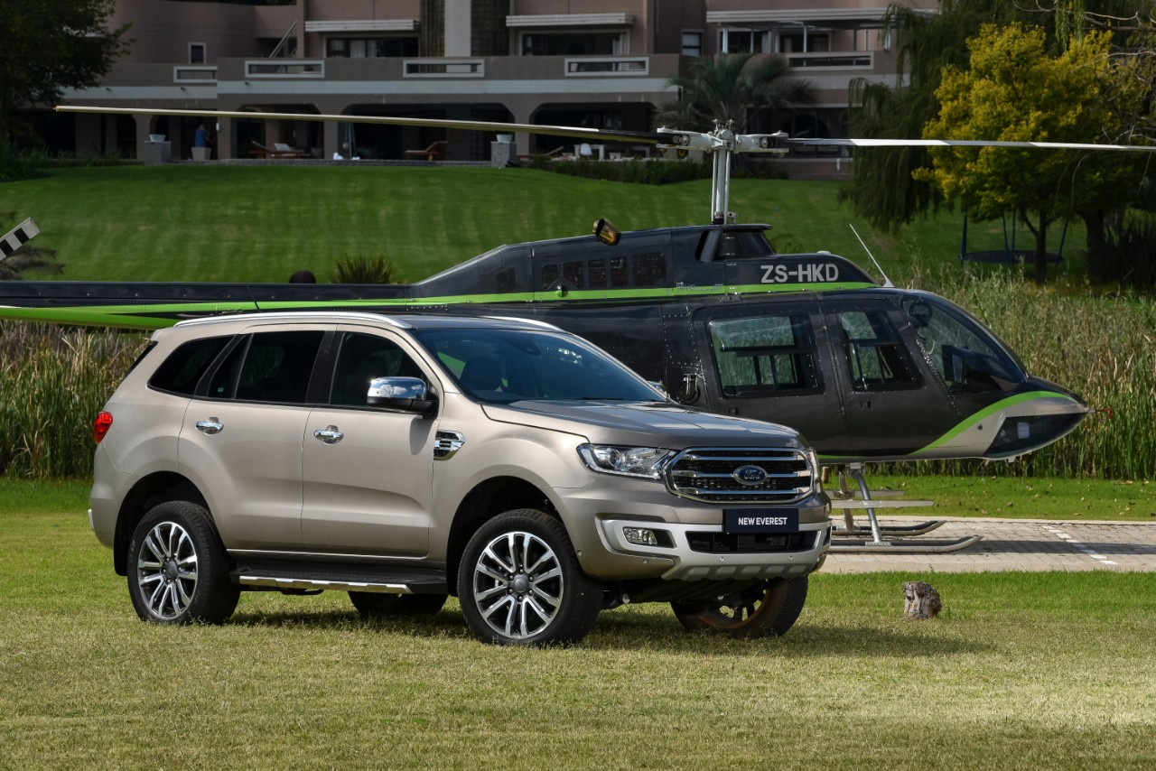 New 2019 Ford Everest Arrives in South Africa - The News Wheel