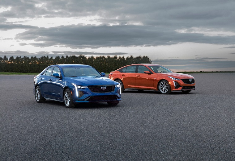 Cadillac Unveils 2020 CT4-V and CT5-V Performance Sedans ...