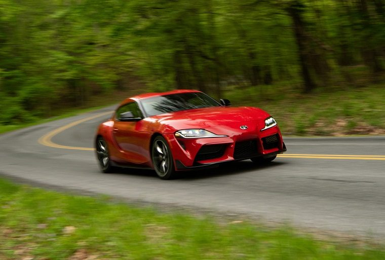 2020 Toyota GR Supra Renaissance Red