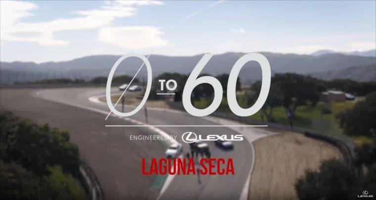 Lexus 0 to 60 Challenge