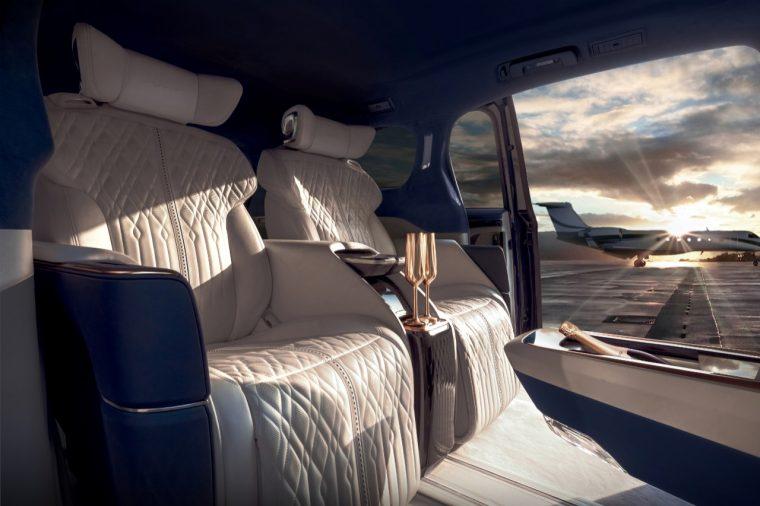 Interior of the Buick GL8 Avenir concept