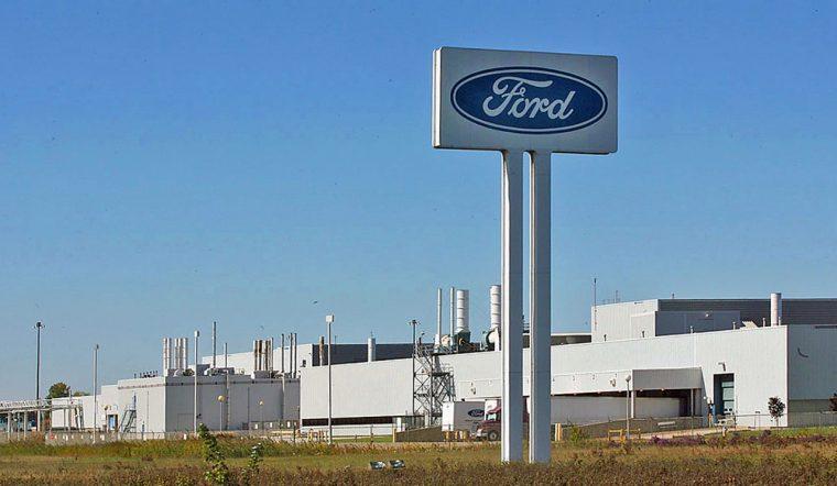 Ford V8 production Essex Engine Plant cutbacks