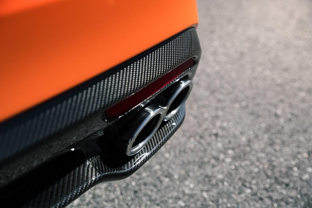 Limited Edition Kia Stinger GTS orange
