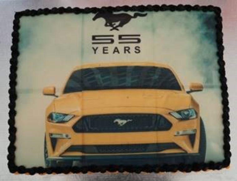 Ford Canada Mustang Cakes