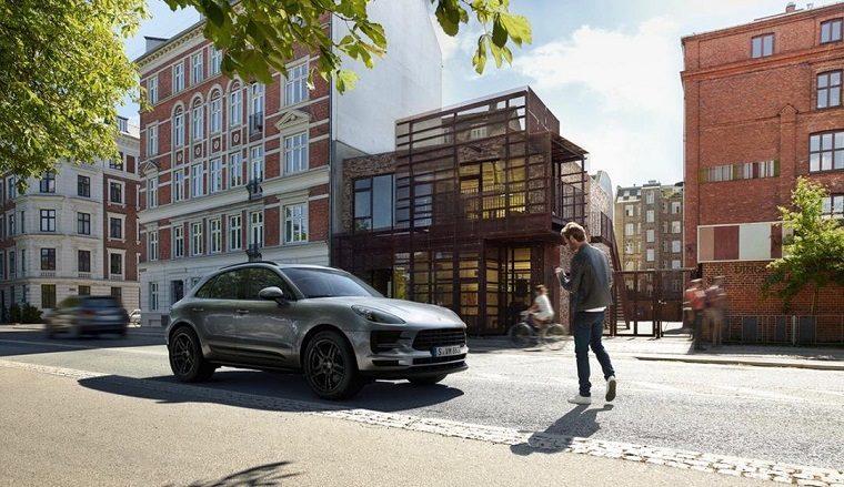 Porsche car in augmented reality
