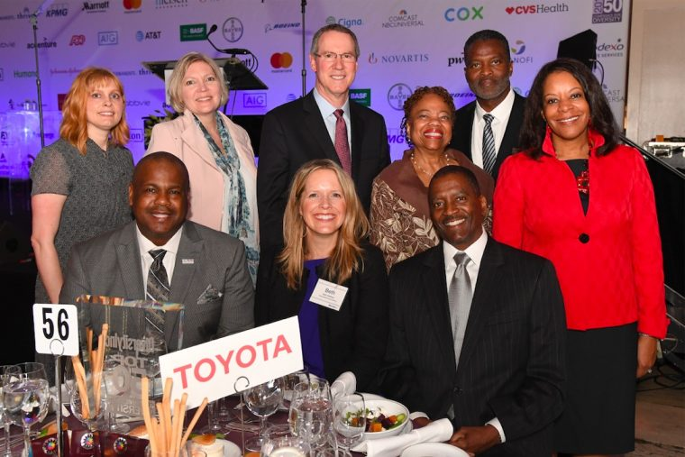 Toyota recognized by DiversityInc