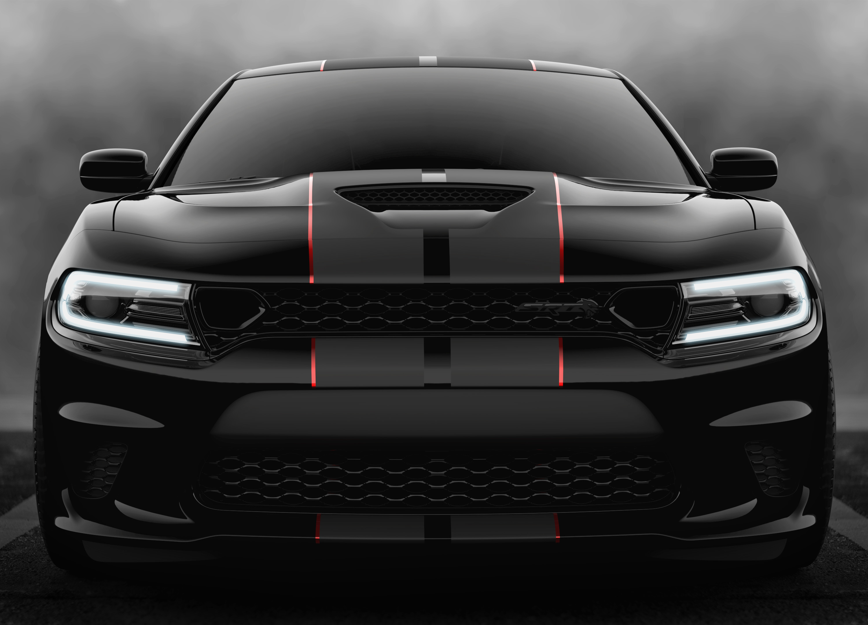 2019 Dodge Charger Srt Hellcat Lineup Debuts Blacked Out