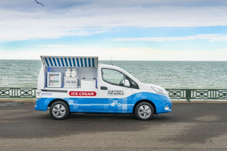 2019 Nissan Electric Ice Cream Van
