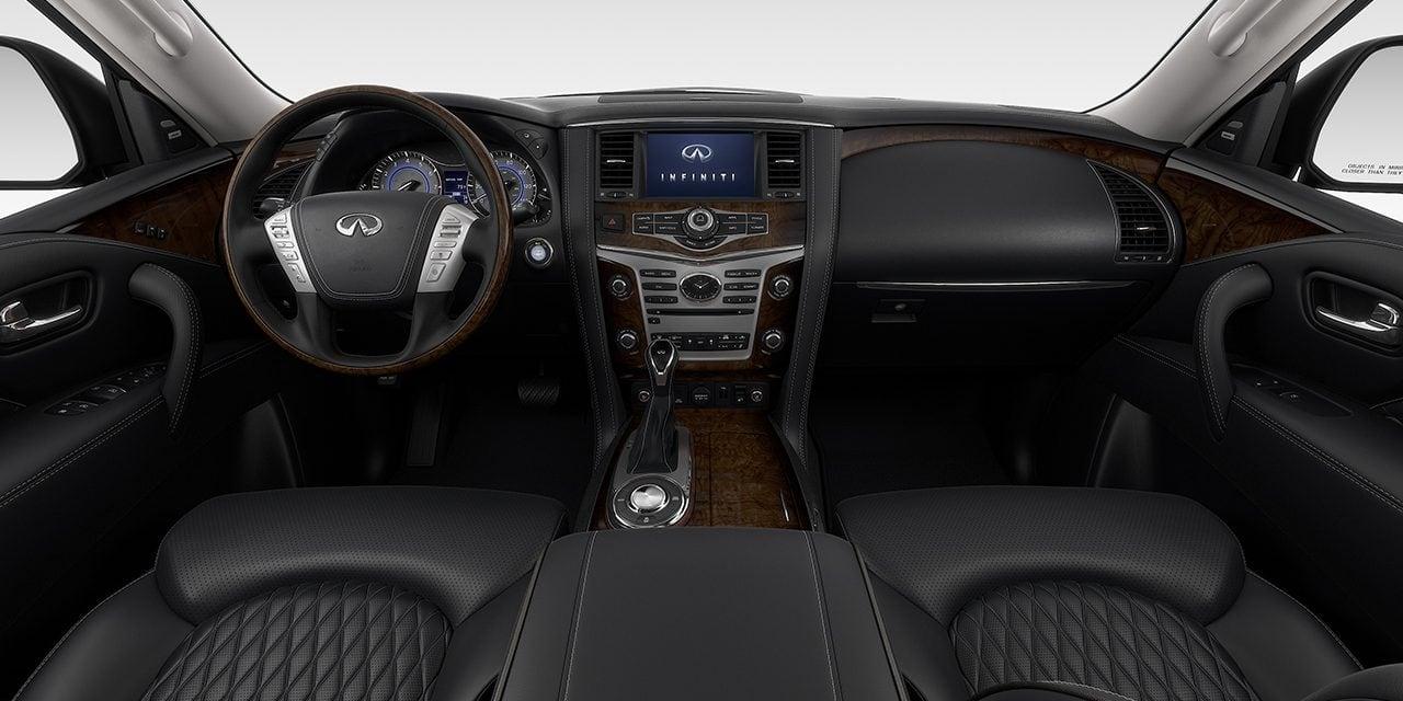 2019 INFINITI QX80 Interior