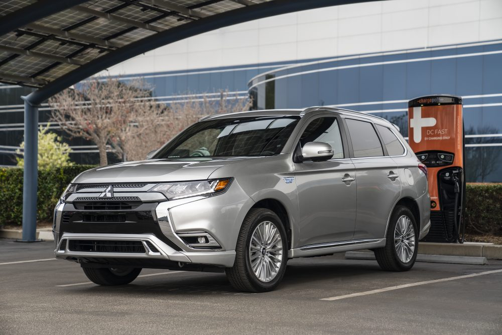2019 Mitsubishi Outlander PHEV wins 'Best In Class Green Vehicle Hybrid or PHEV.' Outlander PHEV makes Best Plug-in Hybrid list