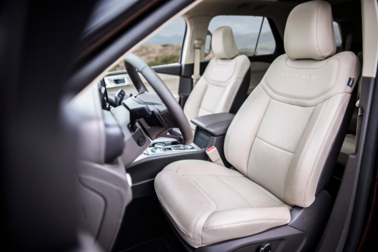 2020 Ford Explorer front seats