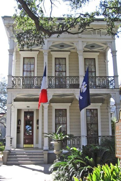 Degas House Louisiana