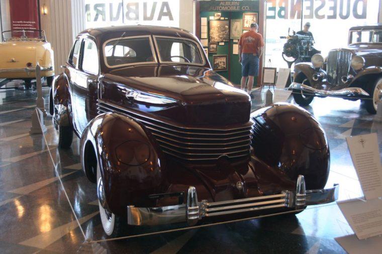 Auburn Cord Dusenberg Museum