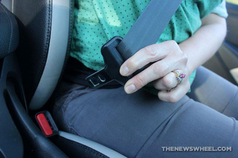 Car Seat-belt lock unlock safety secure seat belt strap