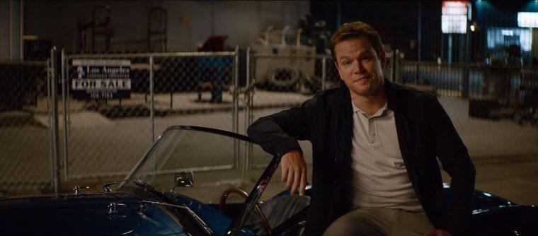 Ford V. Ferrari Trailer Le Mans Shelby Movie 2019 Matt Damon Christian Bale car race