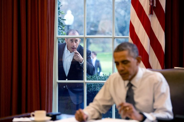 Jerry Seinfeld Barack Obama Comedians in Cars Getting Coffee White House