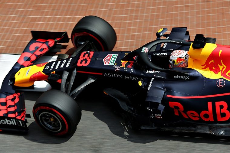 Max Verstappen on his way to a fourth-place finish in Monaco