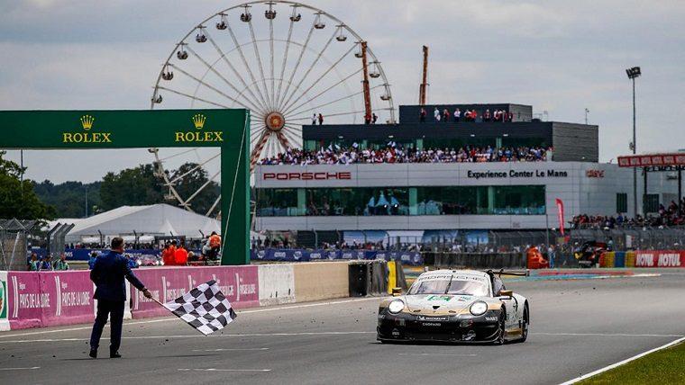 Porsche 911 RSR at 2019 Le Mans