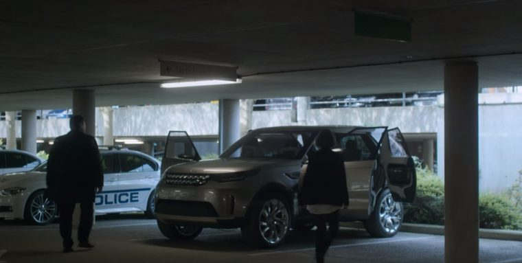 The Cars of Black Mirror Hated in the Nation episode Land Rover Discovery Vision SUV
