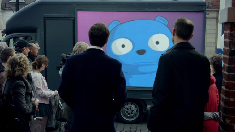 The Cars of Black Mirror The Waldo Moment Episode Iveco Daily van
