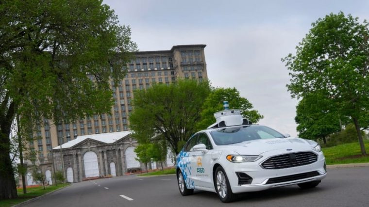 Third-generation Ford Fusion Hybrid Autonomous Test Vehicle