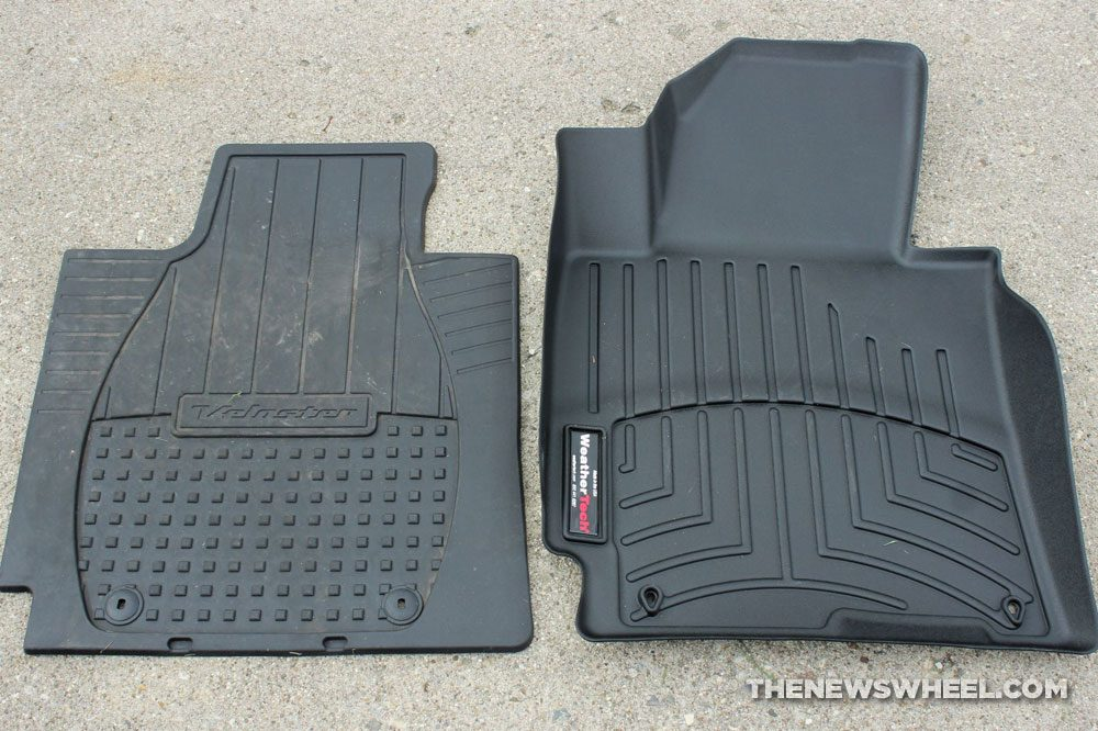 Weathertech Floorliners review car floor mats rubber heavy duty worth it for price difference OEM comparison