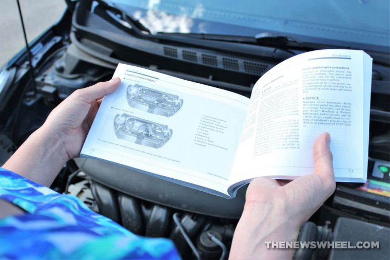 put the owner's manual in the glove box
