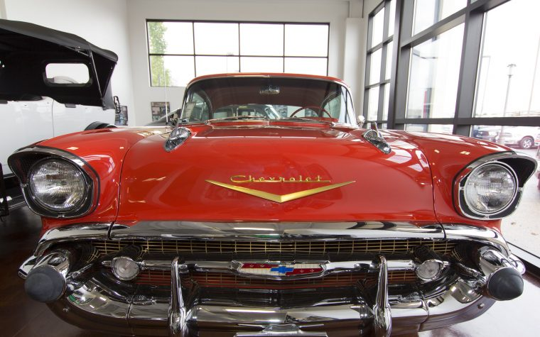 swope's cars of yesteryear 1957 chevrolet bel air