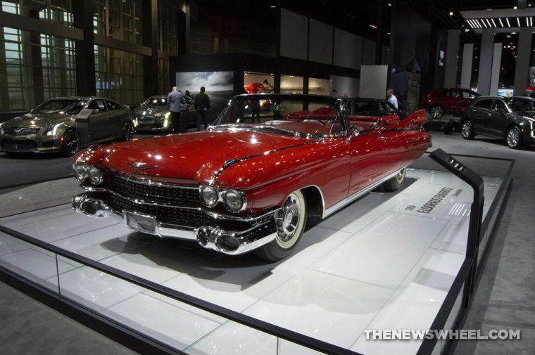 1959 Cadillac Eldorado Biarritz Convertible at the 2019 Chicago Auto Show