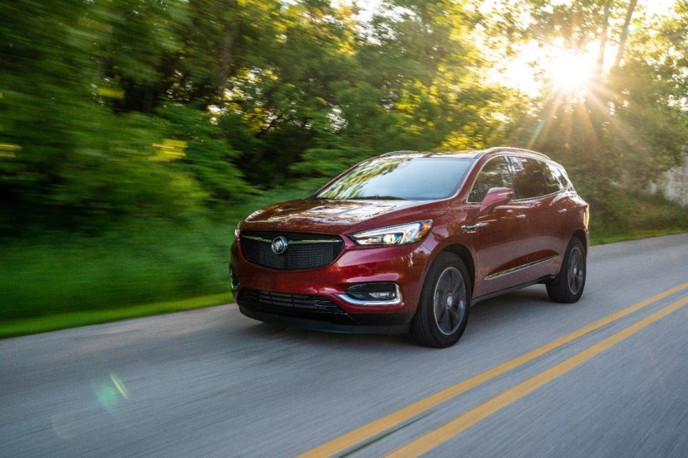 2020 Buick Enclave. Enclave refresh for 2022 model year