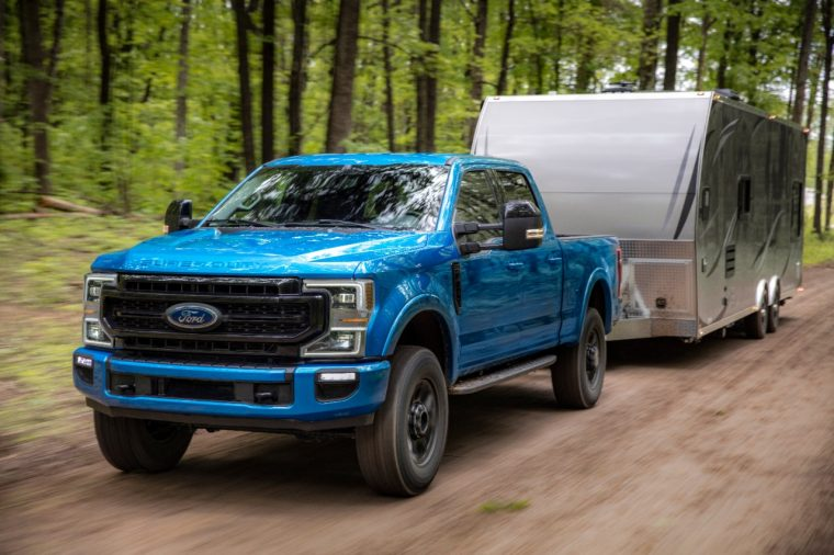 2020 Ford Super Duty Tremor 7.3-liter V8 engine