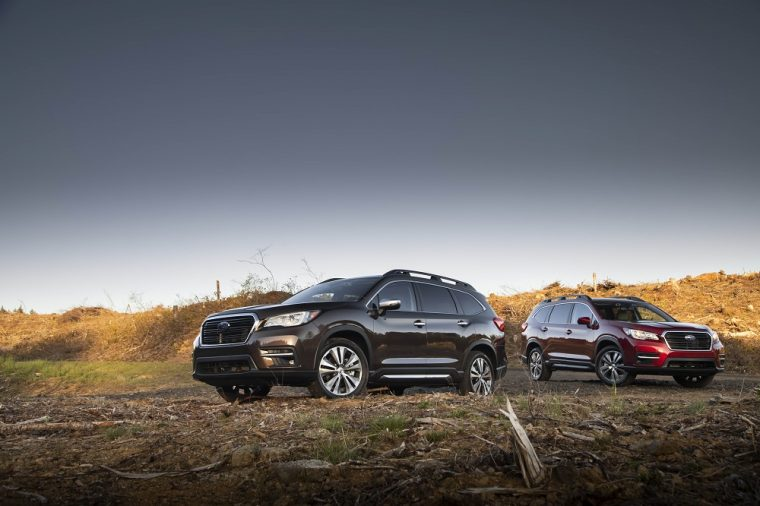 The 2019 Subaru Ascent Touring and Limited
